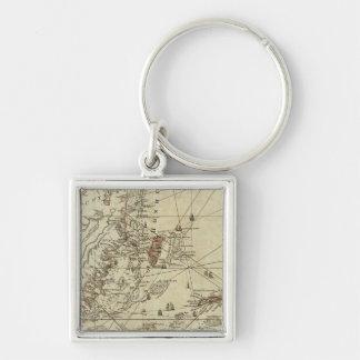 Bay of Honduras Key Ring