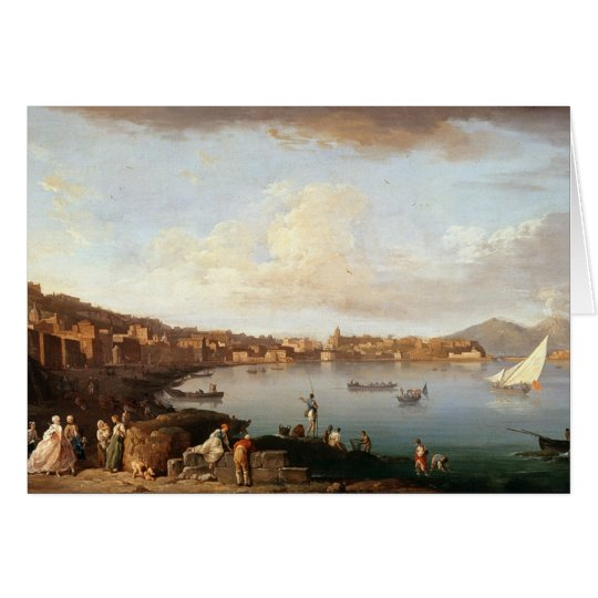 Bay of Naples from the North Card