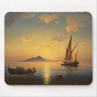 Bay of Naples Ivan Aivazovsky seascape waterscape Mouse Pad
