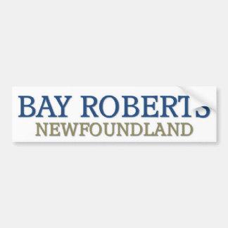 Bay Roberts Newfoundland Bumper Sticker