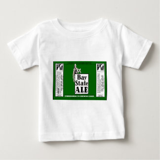 BAY STATE ALE BEER CAN DESIGN COMMONWEALTH BREWING BABY T-Shirt