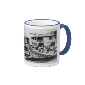 Bay Street, Plymouth, Montserrat Ringer Mug