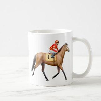 Bay Thoroughbred Racehorse Mug