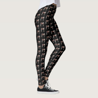 Bay Tobiano Paint Horse Leggings
