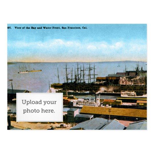 bay-view postcard