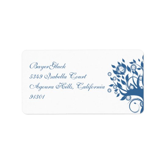 BayerGluck Custom Address Label