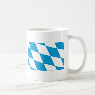 Bayern / Bavaria Flag (Lozengy Version) Basic White Mug
