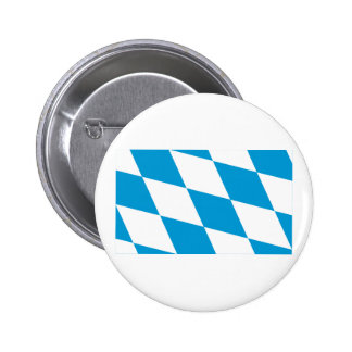 Bayern Bavaria Flag Lozengy Version Button