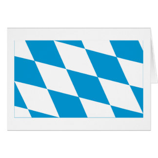 Bayern / Bavaria Flag (Lozengy Version) Cards