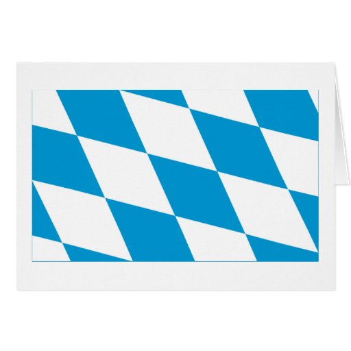 Bayern / Bavaria Flag (Lozengy Version) Cards