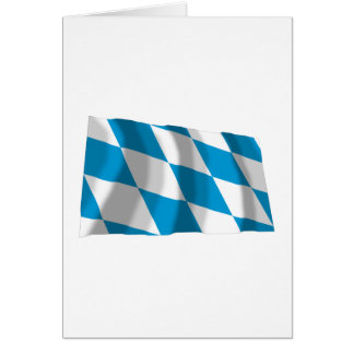 Bayern / Bavaria Flag (Lozengy Version) Greeting Card