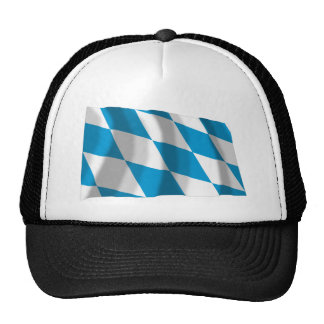 Bayern / Bavaria Flag (Lozengy Version) Mesh Hat