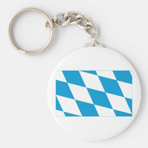 Bayern / Bavaria Flag (Lozengy Version) Key Chains
