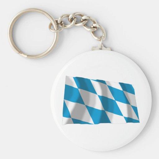 Bayern / Bavaria Flag (Lozengy Version) Keychain