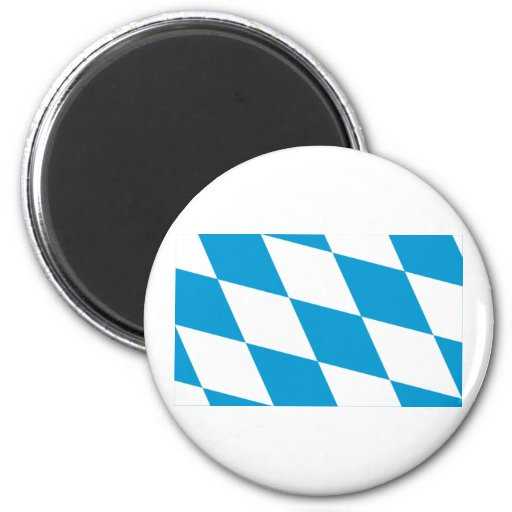 Bayern / Bavaria Flag (Lozengy Version) Magnet