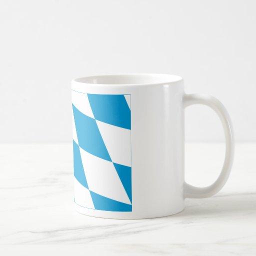 Bayern / Bavaria Flag (Lozengy Version) Mugs