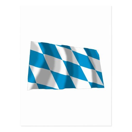 Bayern / Bavaria Flag (Lozengy Version) Postcards