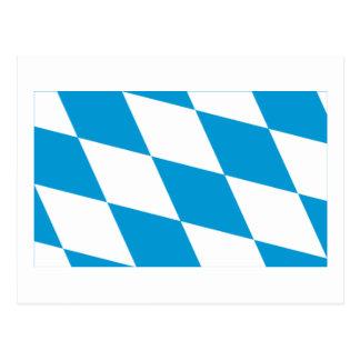 Bayern Bavaria Flag Lozengy Version Postcards