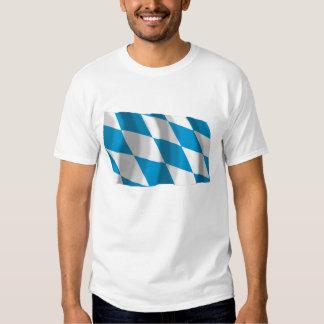 Bayern / Bavaria Flag (Lozengy Version) Tee Shirts