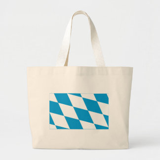 Bayern / Bavaria Flag (Lozengy Version) Canvas Bags