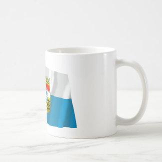 Bayern / Bavaria Flag with Arms Coffee Mug
