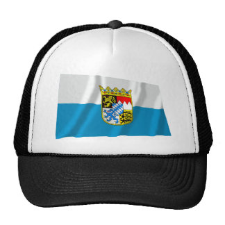 Bayern Bavaria Flag with Arms Trucker Hat
