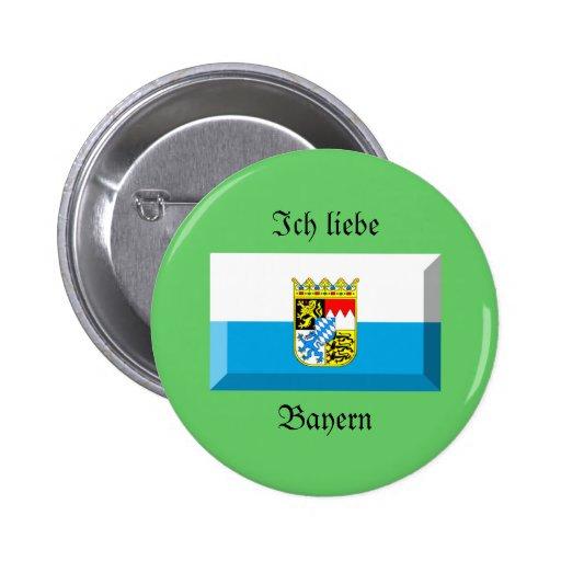 Bayern Flag Gem Pin