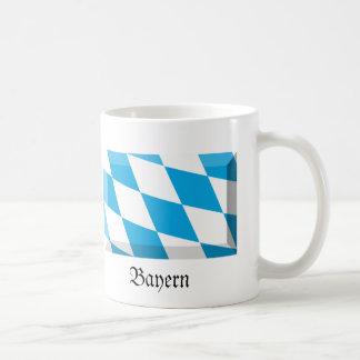 Bayern Flag Gem Basic White Mug