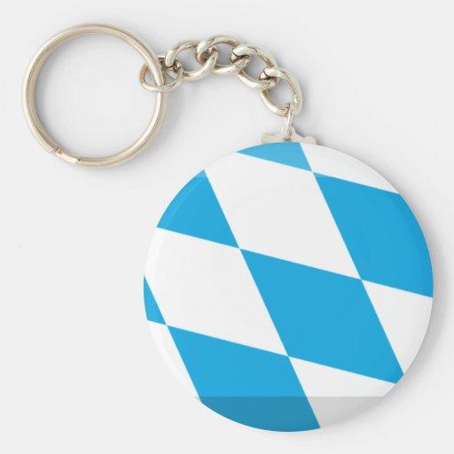 Bayern Flag Gem Keychains