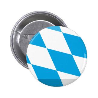 Bayern Flag Gem Pinback Buttons