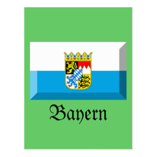 Bayern Flag Gem Post Cards