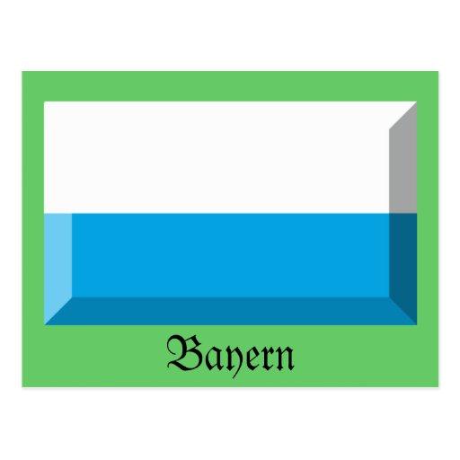Bayern Flag Gem Postcards