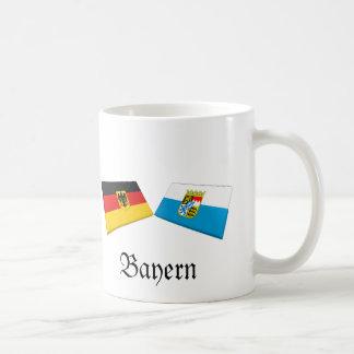 Bayern, Germany Flag Tiles Mug