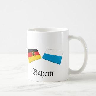 Bayern, Germany Flag Tiles Mugs