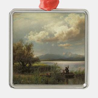 Bayern Landscape, 1856 Christmas Ornament