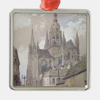 Bayeux Cathedral, View from the South East Christmas Ornament