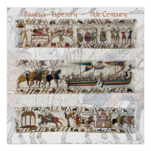Bayeux Tapestry 11th Century Posters