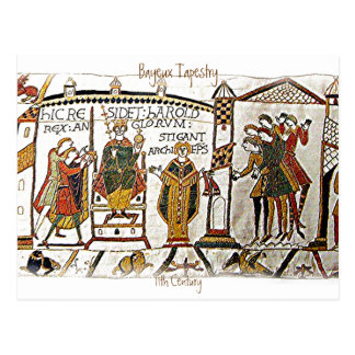 Bayeux Tapestry -a2  Postcard