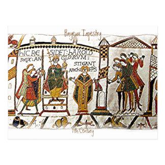 Bayeux Tapestry -a2  Postcard