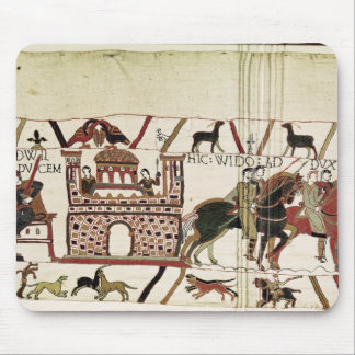 Bayeux Tapestry Earl Harold to Duke of Normandy Mouse Mat