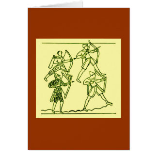 Bayeux Tapestry Greeting Card