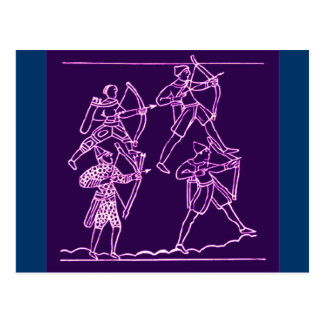 Bayeux Tapestry Postcard