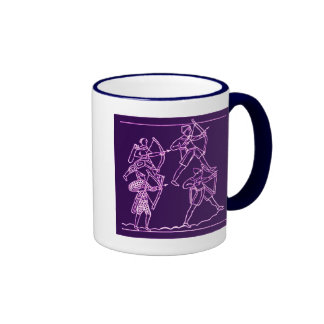 Bayeux Tapestry Ringer Coffee Mug