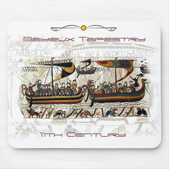 Bayeux Tapestry Scene Mouse Pad