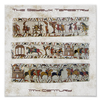 Bayeux Tapestry Scene Posters