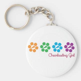 Bayflower Cheerleading Key Ring