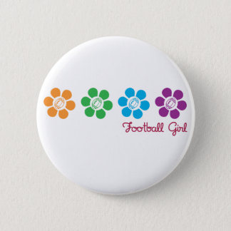 Bayflower Football 6 Cm Round Badge