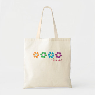 Bayflower Tennis Tote Bag