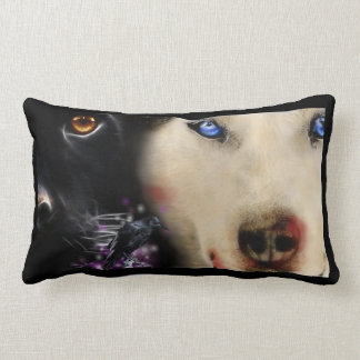 Baying For Blood [Logan & Jenna] Lumbar Cushion