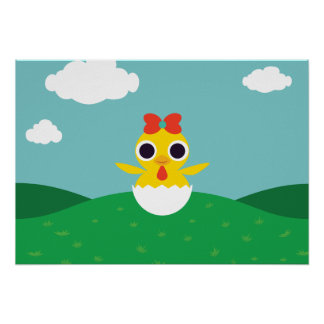 Bayla the Chick Poster